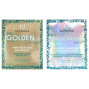 Sephora Collection Wild Wishes Gold + Holo Masks